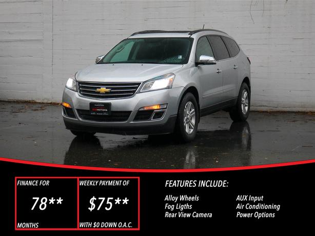 2014 Chevrolet Traverse LT AWD - LOCAL BC SUV - NO ACCIDENTS!