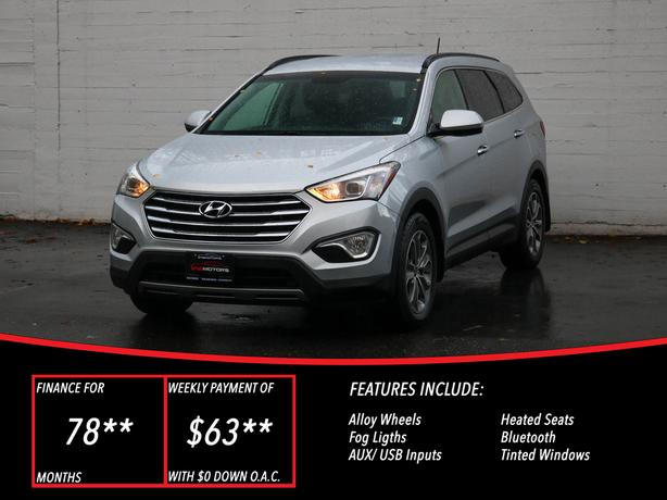 2014 Hyundai Santa Fe XL - LOCAL BC SUV - NO ACCIDENTS!