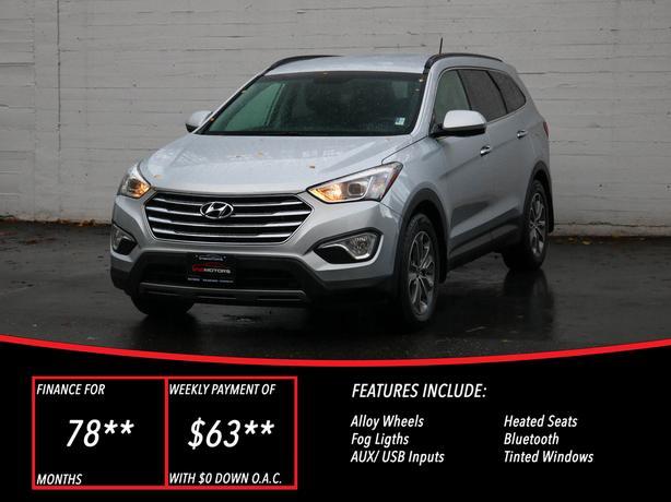 2014 Hyundai Santa Fe XL - LOCAL BC SUV - NO ACCIDENTS!