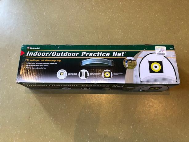 Indoor/Outdoor Practice Net NIB