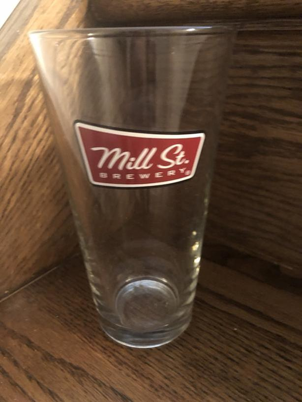 5 x Mill Street Brewery Pint Beer / Draught Glasses