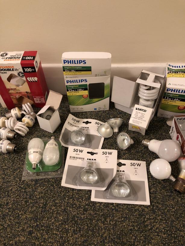 Lots of lightbulbs