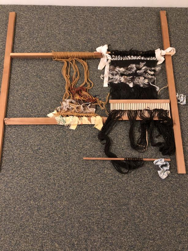Weaving Loom with shuttle