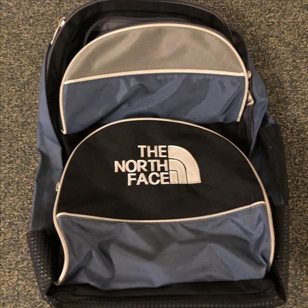 North Face backpack with wheels