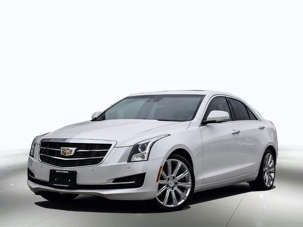 2016 Cadillac ATS Accident free - Sunroof - Navi..- super clean AWD