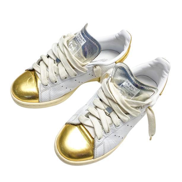Adidas Superstar Metallic Gold Sneakers Men's 4 Woman's 5