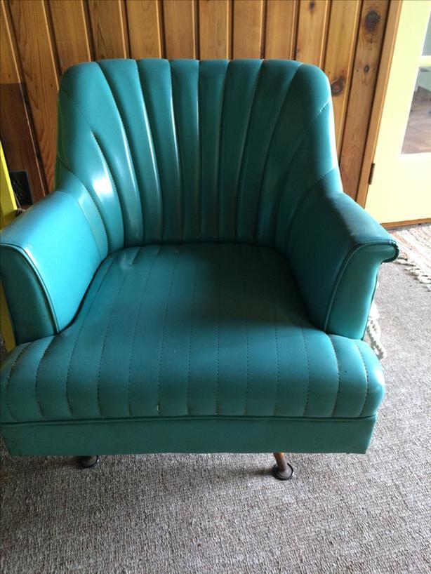 Vintage Swivel Rocker Chair