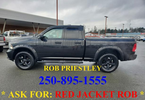 2017 RAM 1500 QUAD CAB EXPRESS 4X4 * ask for RED JACKET ROB *