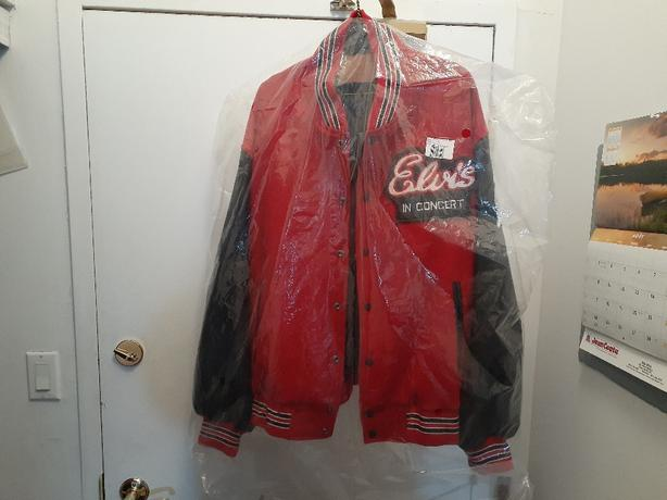 Elvis in Concert TCB Jacket