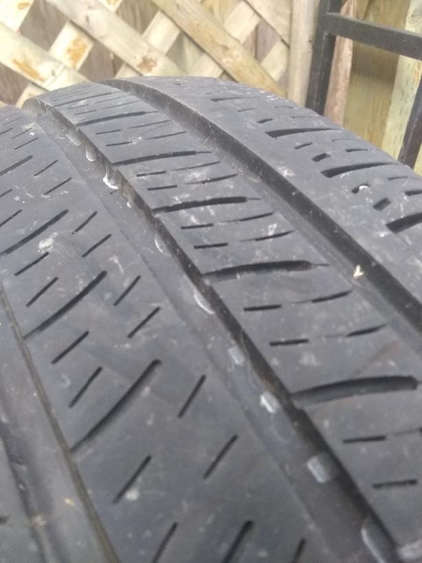 205/55/16 2 all season tires Kumho solus