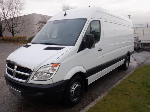 2007 Dodge Sprinter Van High Roof 3500 170-inch Wheelbase Cargo Van Work Shop Cu