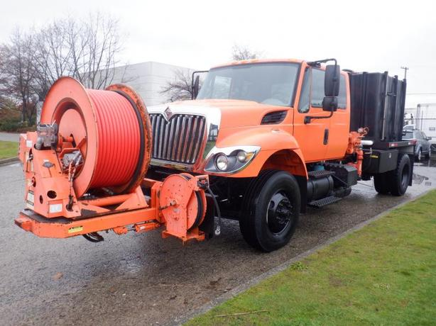 2008 International 7500 Dually Diesel Pump Truck with Air Brakes