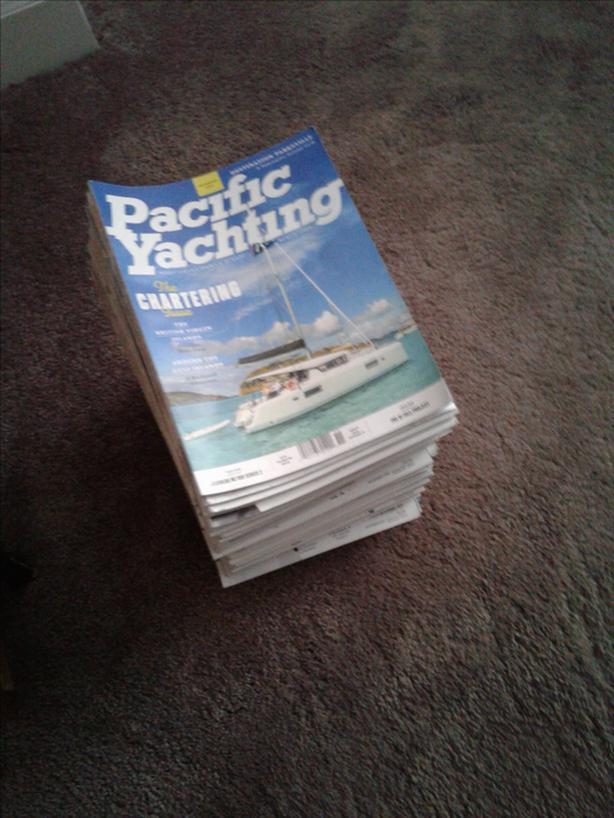 FREE: Pacific Yachting Magazines