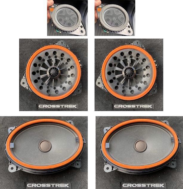 Full set of New 2021 Subaru Crosstrek Harmon Kardon Premium Speakers