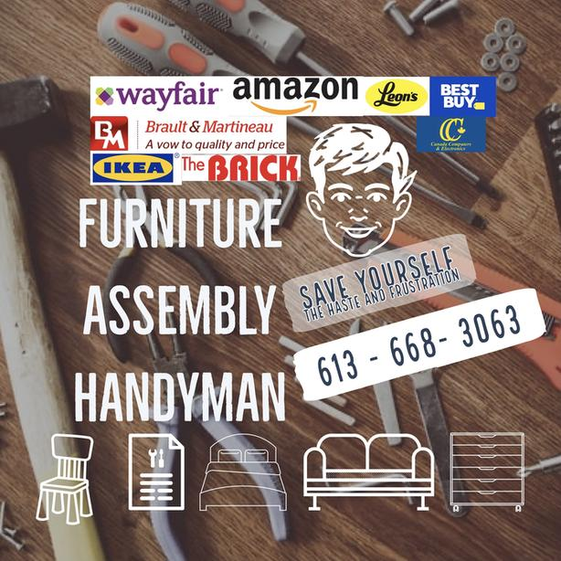 Furniture Assembly services - Handyman