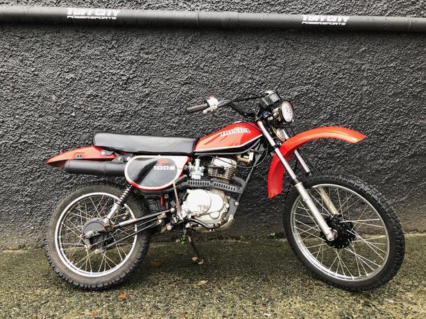 1981 Honda XL100 offroad fun size bike