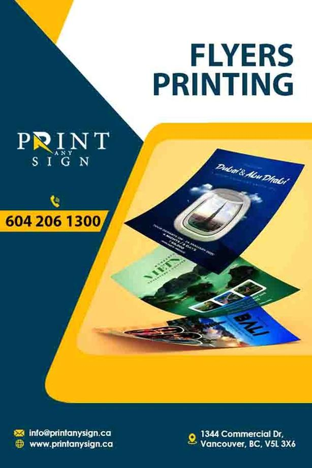 Flyers Design and Printing