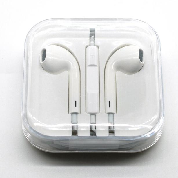 New Authentic Apple EarPods with 3.5mm headphone plug