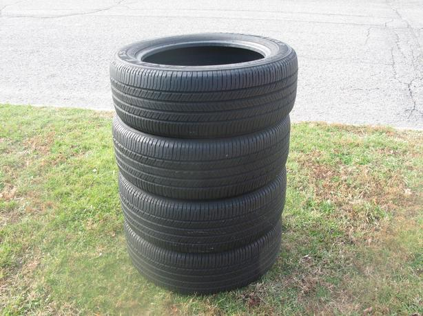 FOUR (4) GOODYEAR EAGLE LS2 TIRES /225/55/18/ - $300