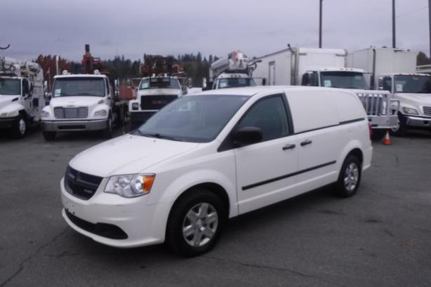 2013 Dodge Cargo Van With Rear Shelving