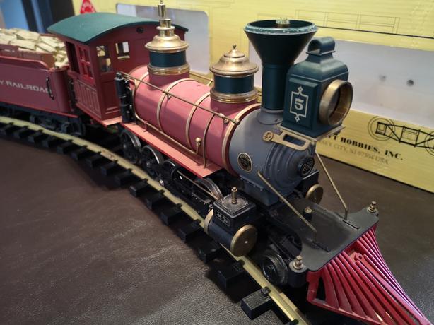G Scale Trains - Aristo Craft - Steam C-16 2-8-0