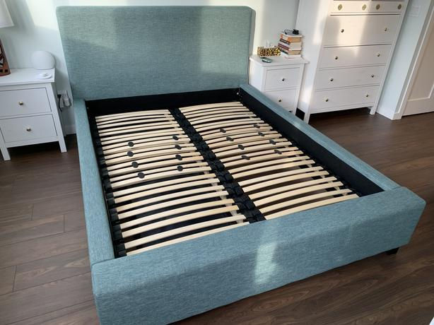 Queen Bed Frame (EQ3 Fabric Upholstered)