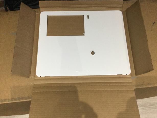 Atwood 6 gallon propane water heater, new in box white door