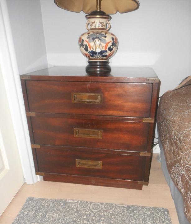 Gibbard Brigadier Solid Mahogany Bedroom set