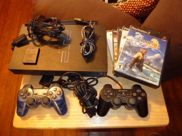 PS2 Play station 2 w/games