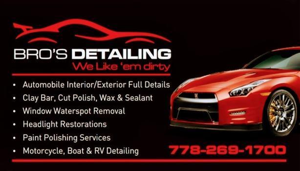 Bros Detailing (Mobile Automotive Detailing )
