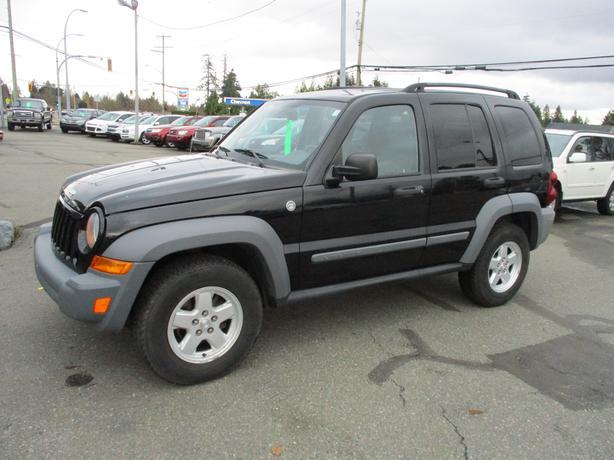 2005 jeep liberty 4x4 sport