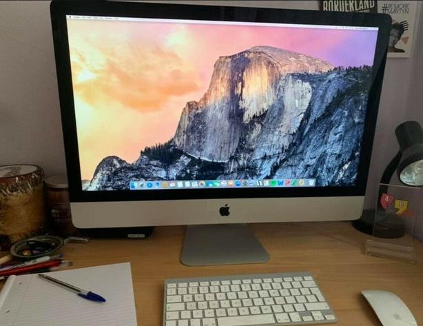"""27"""" iMac with original box"""