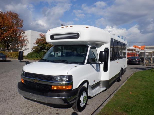 2013 Chevrolet Express G4500 Duramax Diesel 18 Passenger Bus with Wheelchair Acc