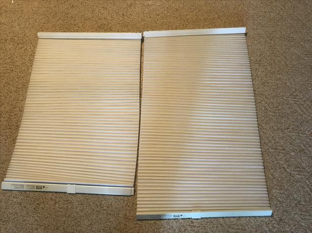 Accordion blinds