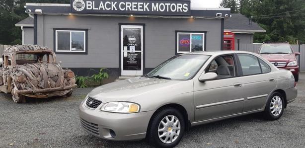 2002 Nissan Sentra GXE Black Creek Motors