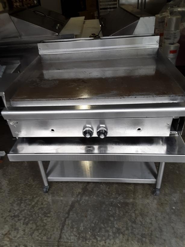 gas Flat top griddle
