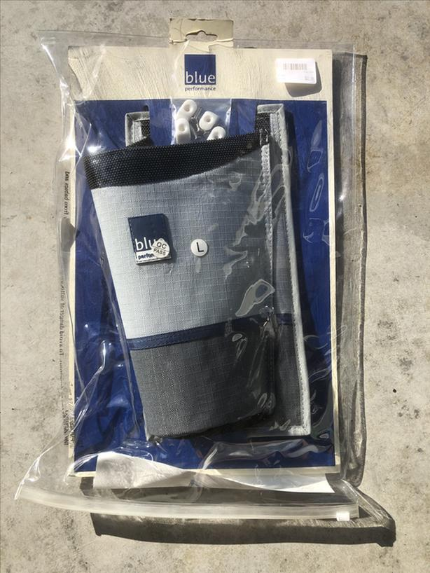 Large blue performance Winch bag