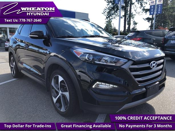 2016 Hyundai Tucson Limited Navigation, Heated Leather, Bluetooth, Re