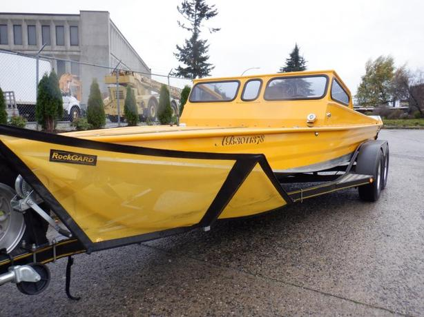 2011 Aluminum Jet Boat with Tandem Spartan Trailer