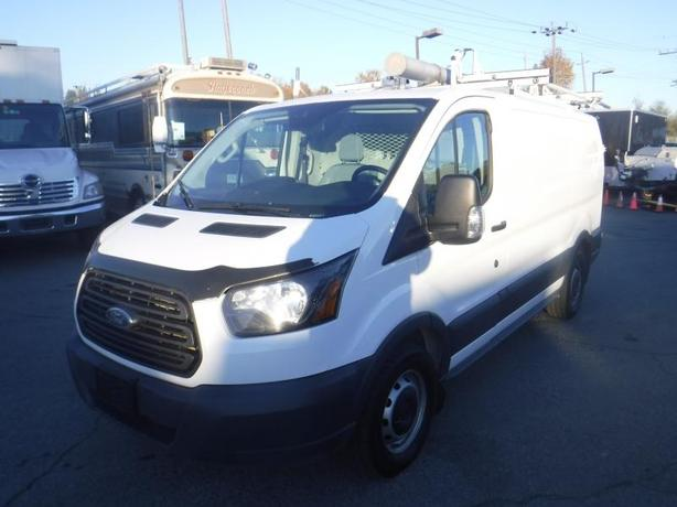 2017 Ford Transit 150 Cargo Van Low Roof 130-in. WB with Rear Shelving and Ladde