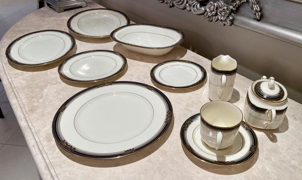 Noritake china, Spellbinder pattern.  Like new.