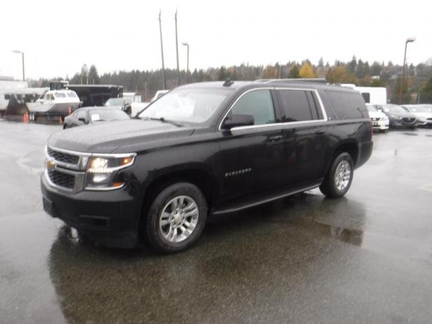 2015 Chevrolet Suburban LT 1500 4WD With 3rd Row Seating