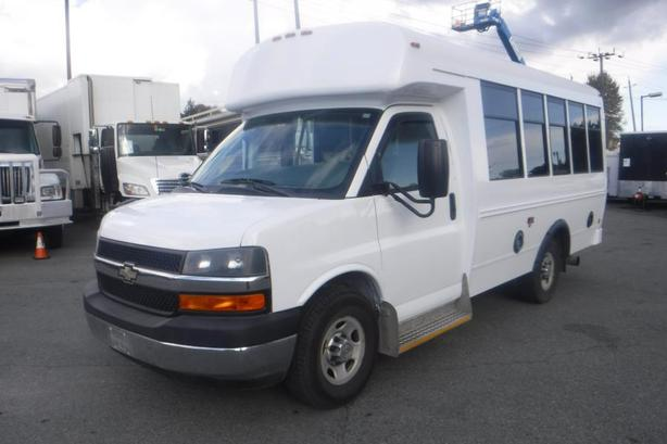 2011 Chevrolet Express G3500 7 Passenger Diesel Bus with Wheelchair Accessibilit