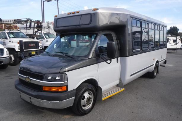 2014 Chevrolet Express G4500 21 Passenger Bus with Wheelchair Accessibility