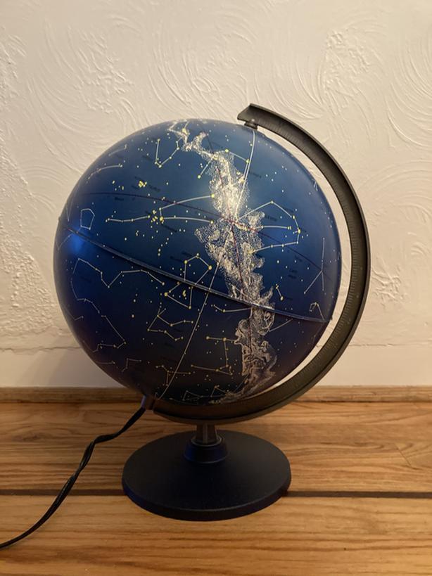 Star Constellations Illuminated Globe