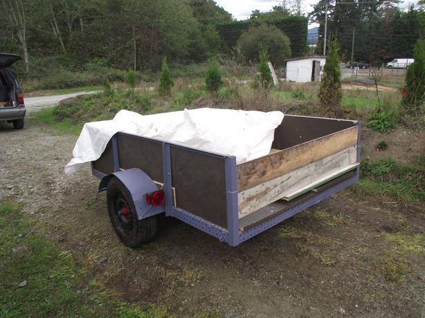 6x8 utility trailer