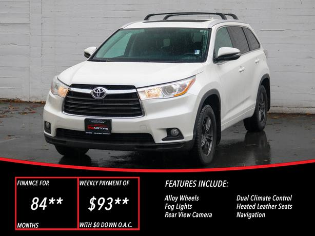 2015 Toyota Highlander XLE AWD - LOCAL BC SUV - NO ACCIDENTS!
