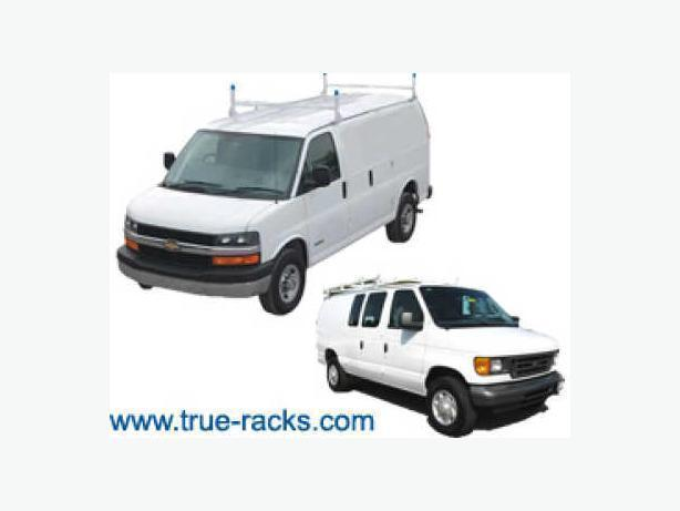 Ladder Racks for Full Size, MiniVans - Van Shelving