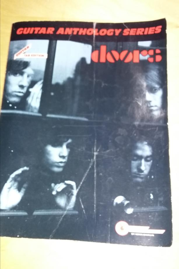 Guitar anthology series the Doors