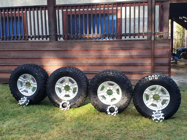 8x170 superduty wheels with 35x12.50r17